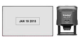 Tacoma Rubber Stamp is your source for Custom Date Stamps. Year band good for 10 years. Fast Shipping
