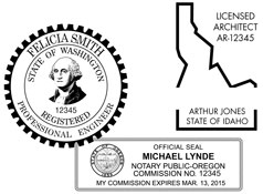 Engineer Seals and Stamps