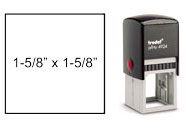 "PRO-4924 - 1-5/8"" x 1-5/8"" Engineer/Notary Stamp"