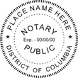 DC-NOT-SEAL - District of Columbia (DC) Notary Seal