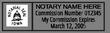 IA-NOT-1 - Iowa Notary Stamp