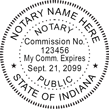 IN-NOT-SEAL - Indiana Notary Seal