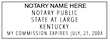 KY-NOT-1 - Kentucky Notary Stamp