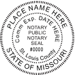 MO-NOT-SEAL - Missouri Notary Seal