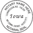 IA-NOT-SEAL - Iowa Notary Seal