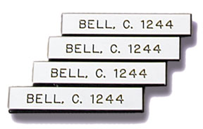 Check out our selection of custom name tags. Many sizes and colors. Low Prices