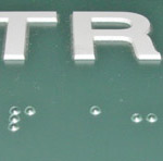 Braille Letter Signs