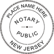 NJ-NOT-SEAL - New Jersey Notary Seal