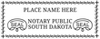 SD-NOT-1 - South Dakota Notary Stamp