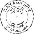 VI-NOT-SEAL - U.S Virgin Islands Notary Seal
