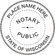 WI-NOT-SEAL - Wisconsin Notary Seal
