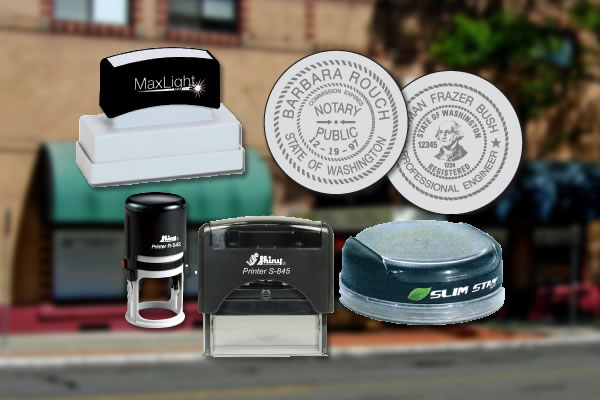 Stamps, Seals and Notary